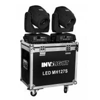 Pack 2 x LED MH127S inclus élingues-Flightcase