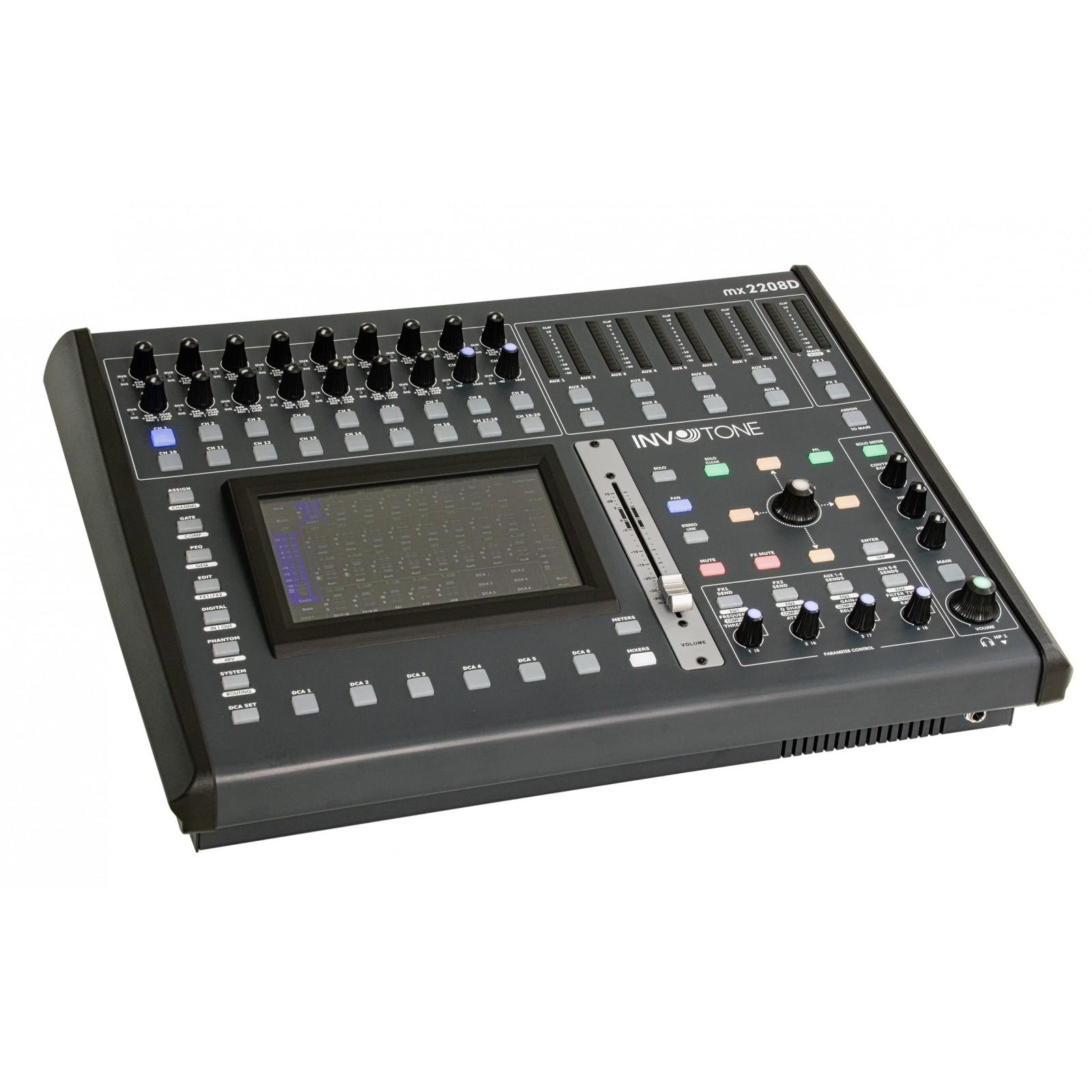 Console de mixage numérique /écran tactile